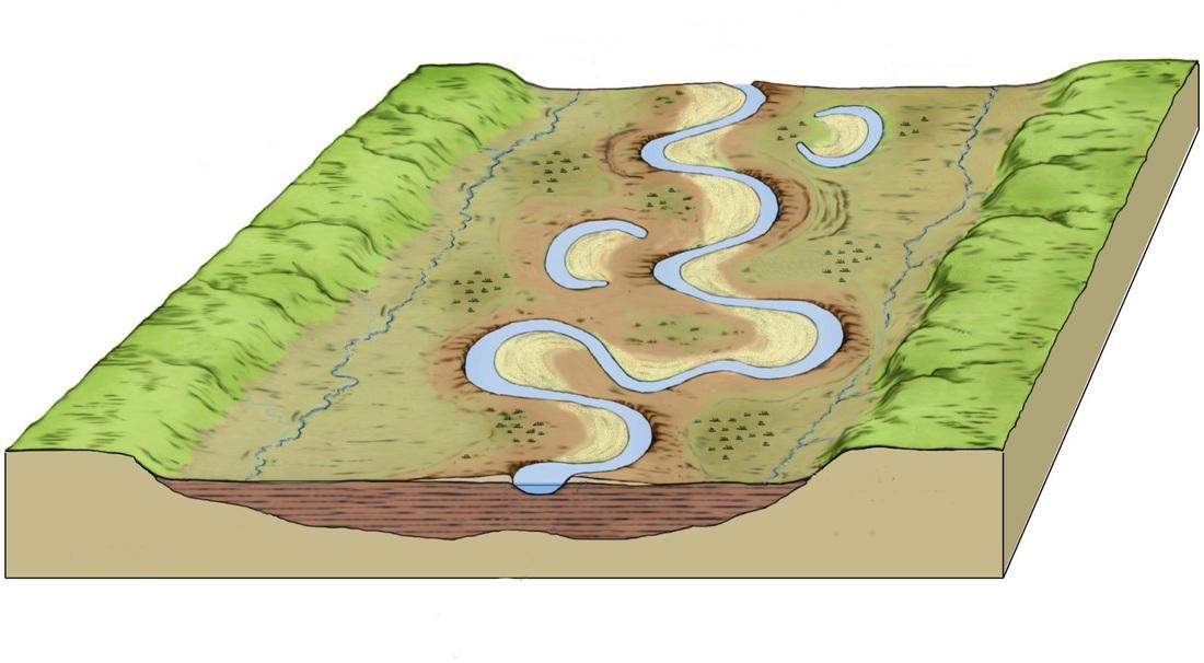 ImageQuiz River Landforms - Geography rivers quiz