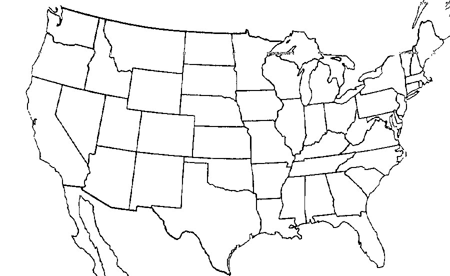 ImageQuiz Outline Drawing Tool - Sierra nevada mountains on us map