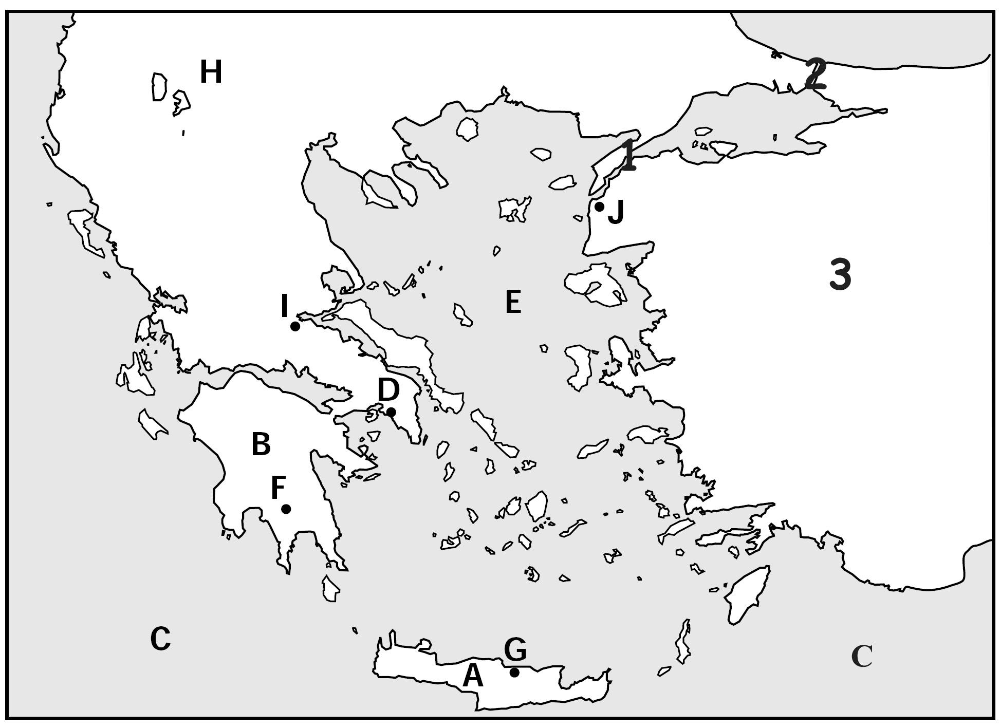 Ancient Greece Map Quiz ImageQuiz: Ancient Greece Map Quiz