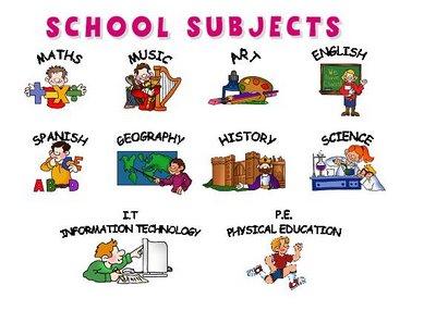 Imagequiz subjects for Actividades recreativas en el salon de clases