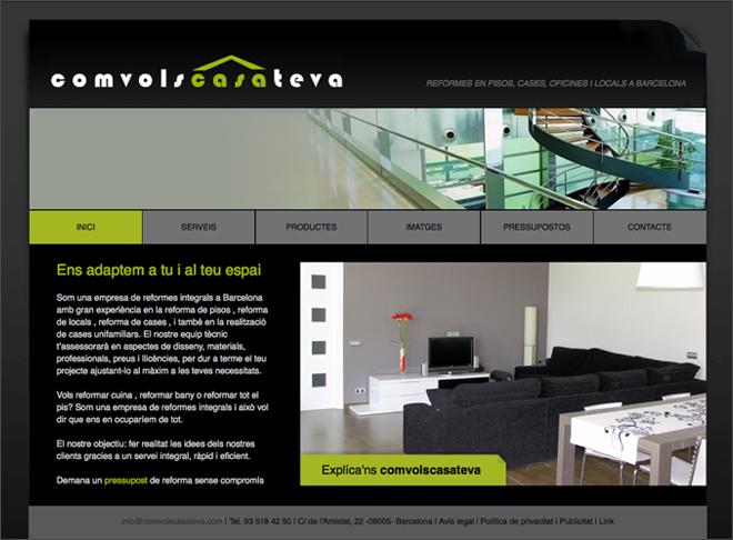 Imagequiz elementos de una pagina web for Paginas para disenar casas
