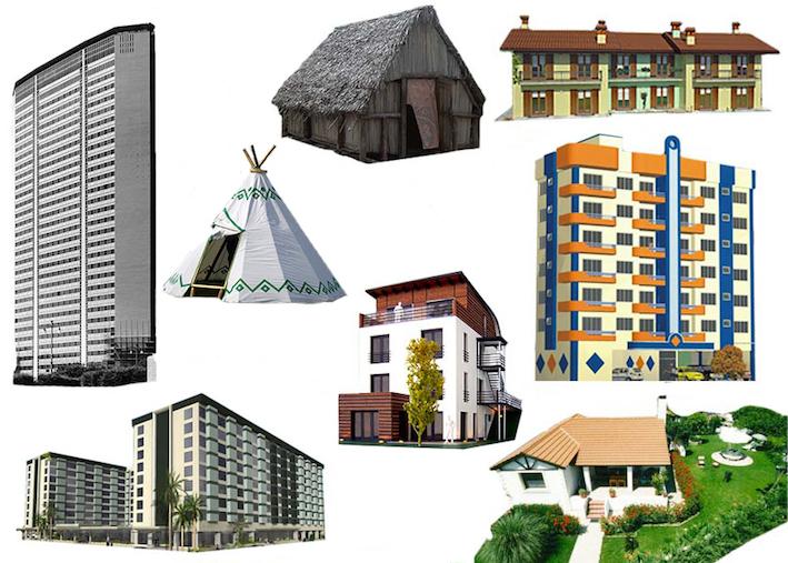 Imagequiz lessico della casa abitazioni for Tipi di abitazione