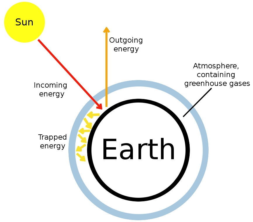 research paper on greenhouse effect The greenhouse effect and global warming recently, global warming has moved to a serious scientific issue because sunlight is constantly falling on the earth, the law of physics say that the planet has to radiate the same amount of energy back into space.
