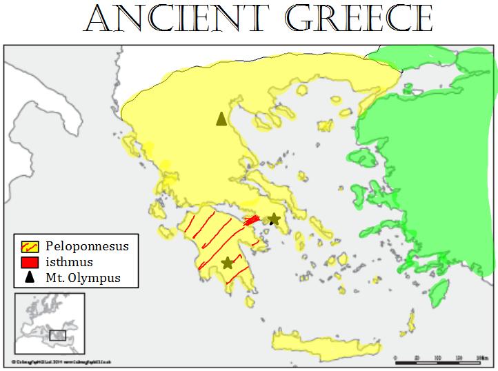 ImageQuiz: Greece Map